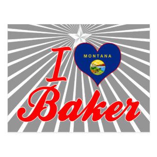 Amo al panadero, Montana Tarjetas Postales