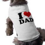 AMO AL PAPÁ - camisa del perro Ropa Para Mascota