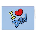 Amo al papá felicitacion