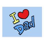 Amo al papá postal