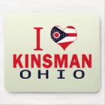 Amo al pariente, Ohio Alfombrillas De Ratones