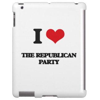 Amo al Partido Republicano Funda Para iPad