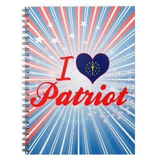 Amo al patriota, Indiana Libretas Espirales