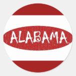 Amo al pegatina de Alabama cerca: da'vy