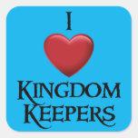 Amo al pegatina de los encargados del reino
