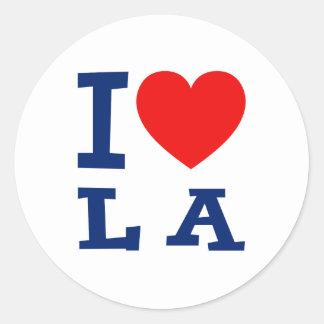 Amo al pegatina del LA