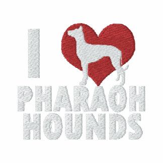 Amo al Pharaoh que los perros bordaron la manga