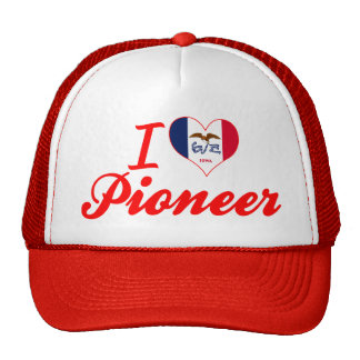 Amo al pionero, Iowa Gorro