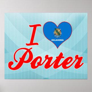 Amo al portero, Oklahoma Póster