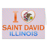 Amo al santo David, IL Felicitaciones