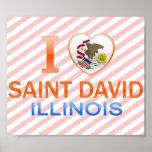 Amo al santo David, IL Posters