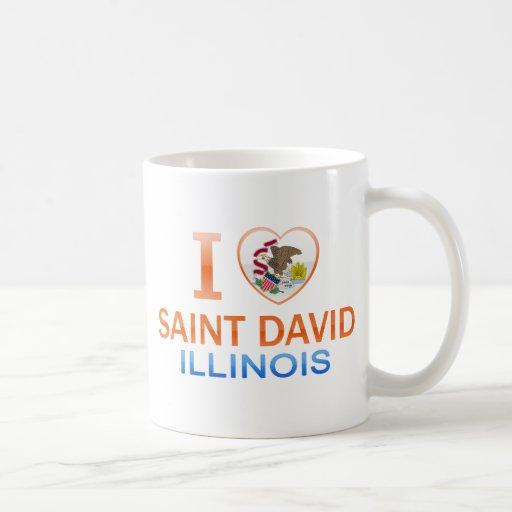 Amo al santo David, IL Taza