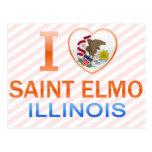 Amo al santo Elmo, IL Postales