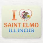 Amo al santo Elmo, IL Tapete De Ratón