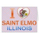 Amo al santo Elmo, IL Tarjetas