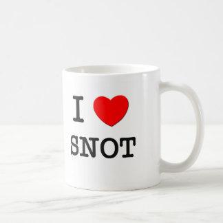 Amo al Snot Tazas De Café