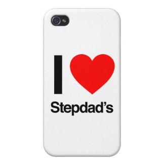 amo al stepdad iPhone 4/4S carcasas