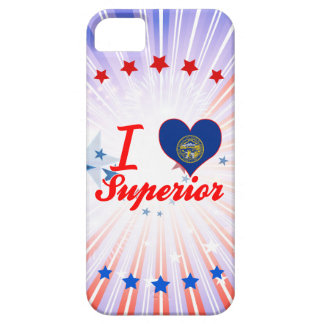 Amo al superior, Nebraska iPhone 5 Case-Mate Fundas