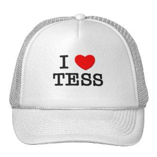 Amo al Tess Gorros Bordados