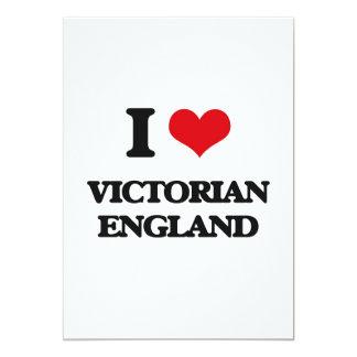 """Amo al Victorian Inglaterra Invitación 5"""" X 7"""""""