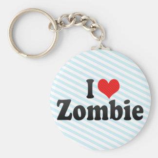 Amo al zombi llavero