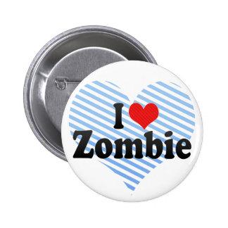Amo al zombi pins