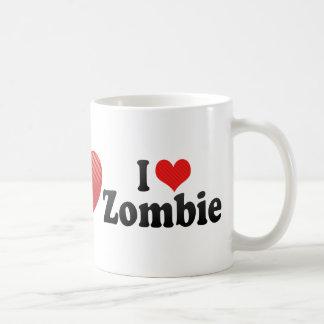 Amo al zombi tazas