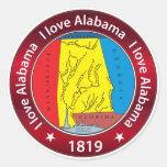 Amo Alabama Etiqueta