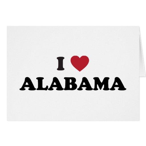Amo Alabama Felicitacion