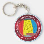 Amo Alabama Llavero