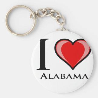 Amo Alabama Llaveros