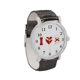 Amo Alabama Relojes De Pulsera