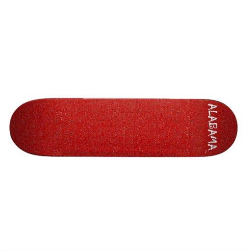 Amo Alabama SkatersWood cerca: da'vy Patines Personalizados