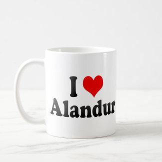 Amo Alandur, la India. Mera Pyar Alandur, la India Taza Básica Blanca