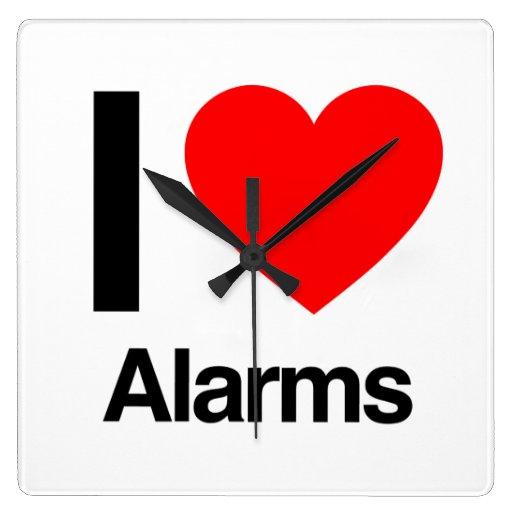 amo alarmas reloj