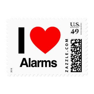 amo alarmas sellos