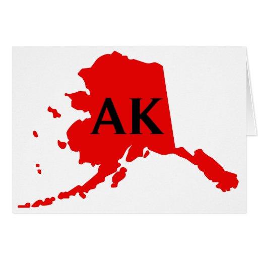 Amo Alaska - AK Tarjetas