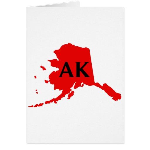 Amo Alaska - AK Tarjeton