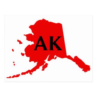 Amo Alaska - AK Tarjeta Postal