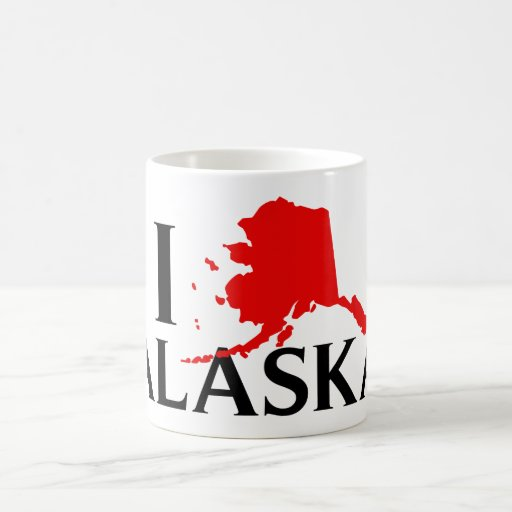 Amo Alaska - estado del amor AK de I Taza Clásica