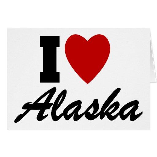Amo Alaska Felicitaciones
