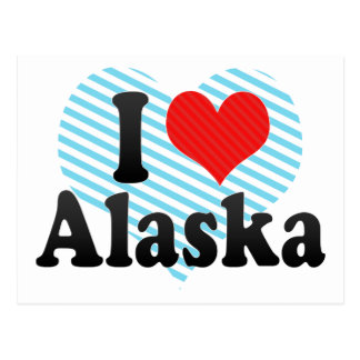 Amo Alaska Postales