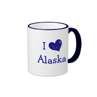 Amo Alaska Taza De Café