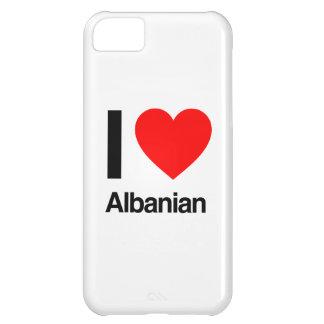 amo albanés funda para iPhone 5C