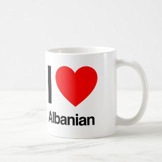 amo albanés taza