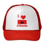 Amo Albania Gorros Bordados