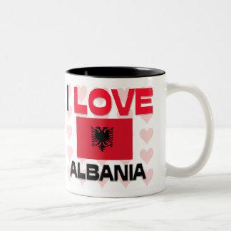 Amo Albania Tazas De Café