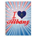 Amo Albany, Indiana Cuaderno