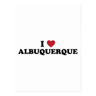 Amo Albuquerque New México Tarjetas Postales