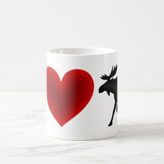 Amo alces taza clásica